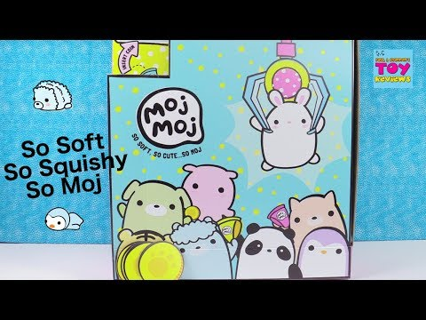 Moj Moj Super Squishy Collectibles Blind Bag Opening Series Toy Review | PSToyReviews