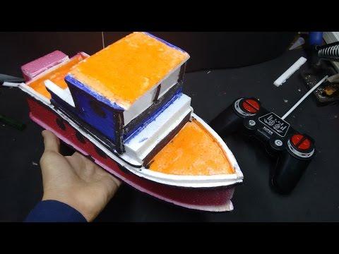 Hướng dẫn làm thuyền điều khiển từ xa - đồ chơi -