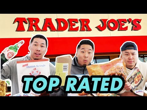 THE 20 BEST FOODS AT TRADER JOE'S...MUST GET!! // Fung Bros
