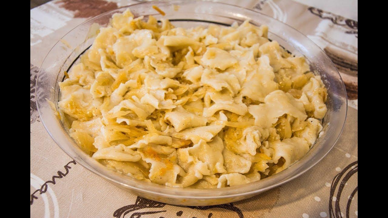 Galuschki mit Sauerkraut - Anleitung zum Nachkochen