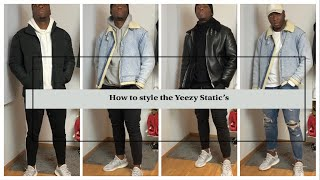 How To Style The Yeezy Static's | Lookbook 2019