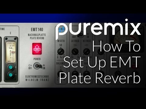 How To Setup EMT Plate Reverb on Vocals with Fab Dupont