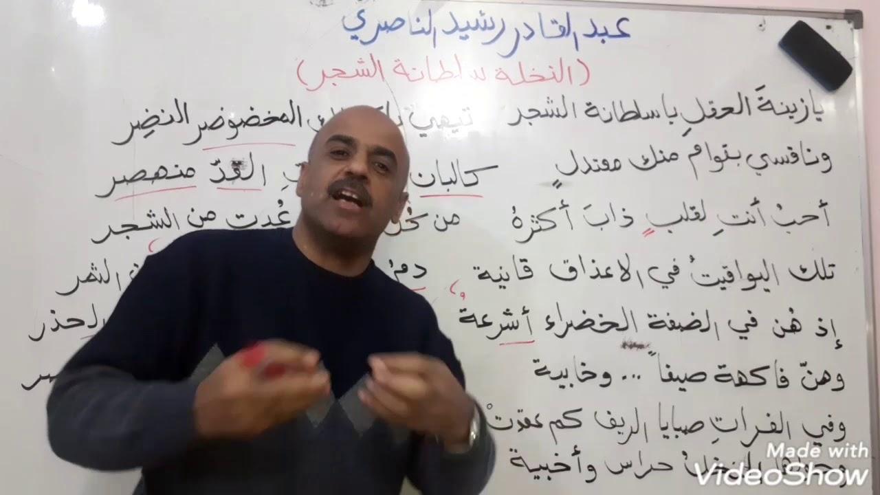 عبد القادر رشيد الناصري ص ٤١ _ السادس_ جماعة أبولو - YouTube