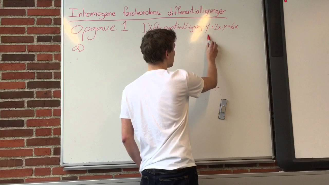 Lineære differentialligninger (Gruppe 8)