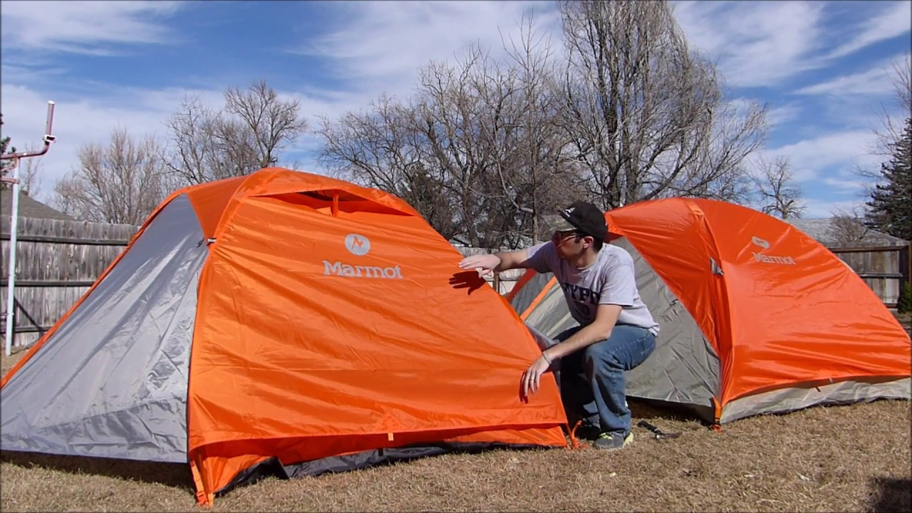 MARMOT 3P TUNGSTEN TENT - OLD VS NEW & MARMOT 3P TUNGSTEN TENT - OLD VS NEW - YouTube