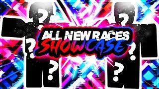 SHOWCASING EVERY NEW RACE IN ROGUE LINEAGE UPDATE ULTIMATE! | ROBLOX