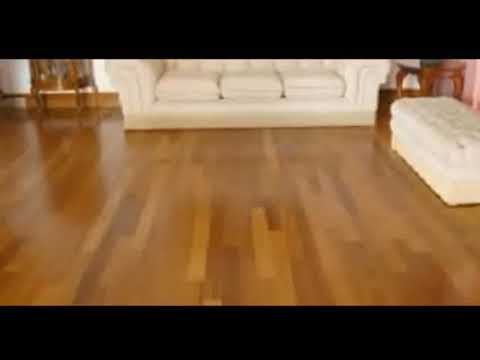 Teak Flooring - Golden Teak Flooring Hand Scraped | Stylish Modern Interiors & Design Decor