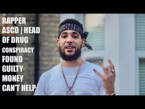 RAPPER ASCO HEAD OF DRUGS CONSPIRACY FOUND GUILTY! MONEY CAN'T HELP!