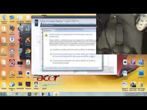 Como actualizar | Sony Ericsson XPeria Neo V versión 4.1.B.0.587