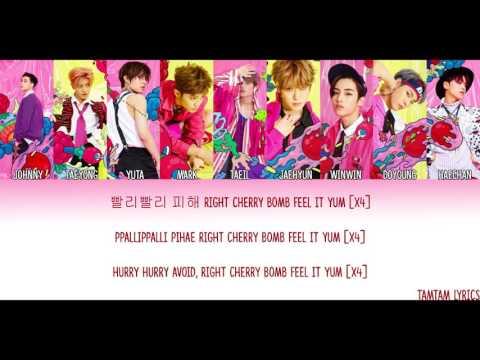Cherry Bomb - NCT 127 Lyrics [Han,Rom,Eng] {Color Coded}