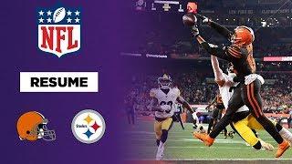 NFL : Une victoire et une grosse bagarre pour les Browns face aux Steelers