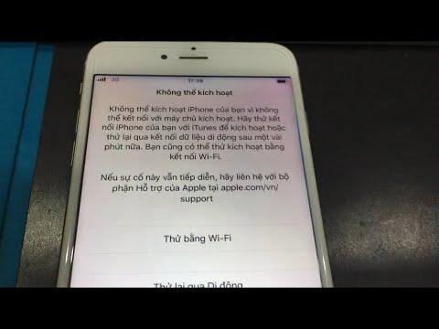 iPhone Lỗi Không Kích Hoạt Sau Khi Update iOS- Nguyên Nhân và Cách Khắc Phục