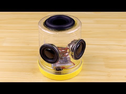 How to Make a Bluetooth Speaker with Plastic Bottles