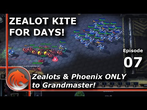 StarCraft 2: What's The Worst Thing That Can Happen? - MASS Zealots & Phoenix!