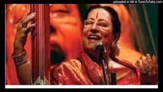 Parveen Sultana - Hindustani-Thumri-misra_bhairavi
