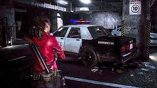 Resident Evil 2 Remake - NEW Gameplay Demo Licker (2019) Zombie Game