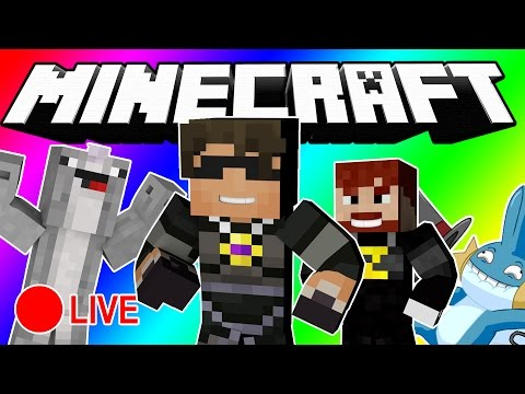 Minecraft DO NOT LAUGH | WE'RE DOING IT LIVE?! (LIVE SPECIAL!)