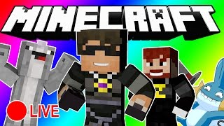 Minecraft DO NOT LAUGH   WE'RE DOING IT LIVE?! (LIVE SPECIAL!)