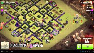 Clash of Clans War Attack! by camrules Avila Clan vs Pinoy X3M
