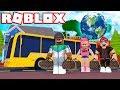 TRAVELING AROUND THE WORLD!! | Roblox Ro-Trip