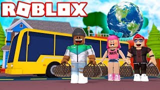TRAVELING AROUND THE WORLD!! | Roblox Ro-Trip