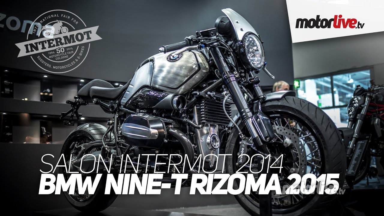 Bmw R Nine T Scrambler >> NEW 2015 | SALON INTERMOT | BMW NINE-T RIZOMA - YouTube