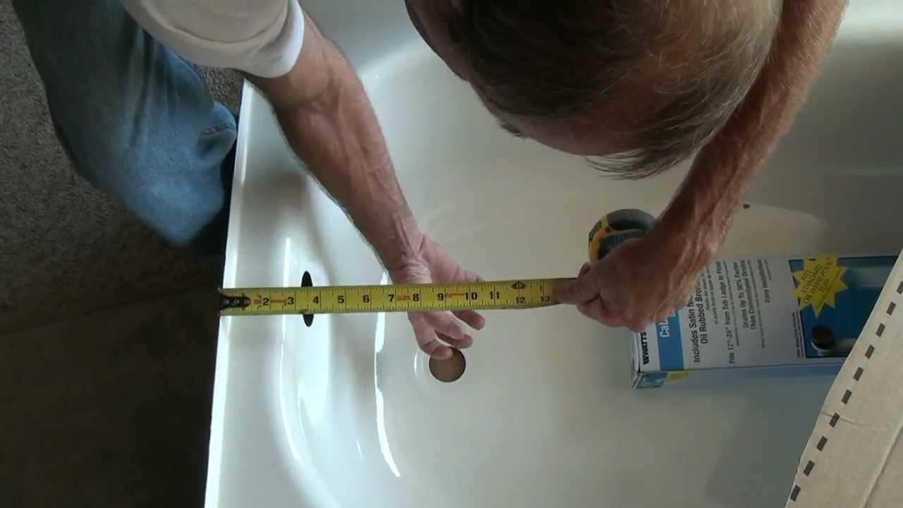 Installing a new Tub (Tile shower surround setup) - YouTube