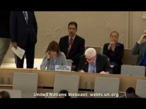 Peter Ash Addresses the UN Human Rights Council  September 24, 2013