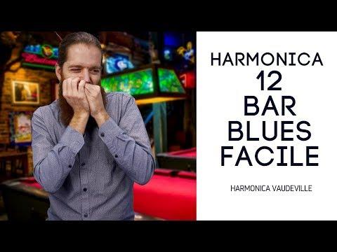 12 Bar Blues Harmonica facile