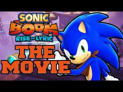Sonic Boom: Rise Of Lyric Wii U - THE MOVIE (2014) All Cutscenes [HD]