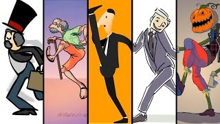 The MINISTRY of SILLY WALKS - Animation Compilation