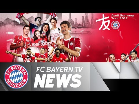 Bayern takes positives from 2017 Audi Summer Tour
