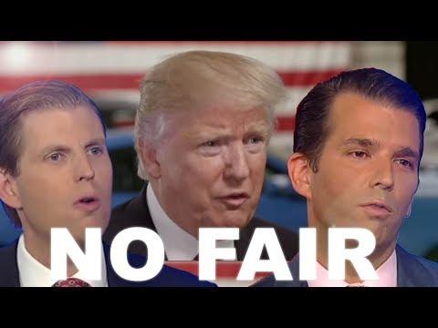 NO FAIR - Trump ft. Eric & Don Jr. | Songify This