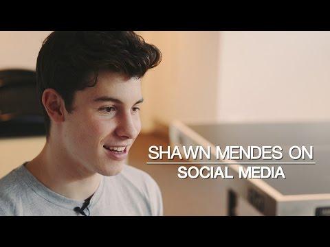 Shawn Mendes on Social Media
