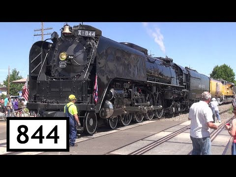 Union Pacific 844 Frontier Days 2017 Steam Train