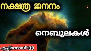 How The Stars And Planet Were Born-Nebula |malayalam|