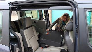 Behind the Wheel With Lindsay - 2014 Ford Transit Connect Wagon