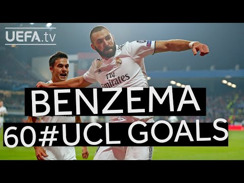Watch all of KARIM BENZEMAs 60 #UCL goals