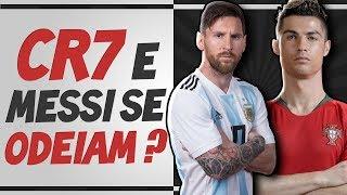 Cristiano Ronaldo e Messi SE 0DEIAM? Entenda TODA A HISTÓRIA dessa rivalidade