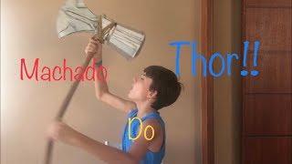 Como fazer Machado do Thor!!!