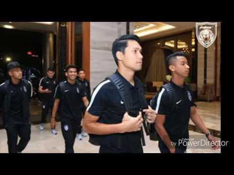PLAYOFF ACL ROUND 2 - PEMAIN JDT SELAMAT TIBA DI THAILAND 29 JANUARI 2017 HD