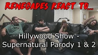 Renegades React to... Hillywood Show - Supernatural Parodies 1 & 2