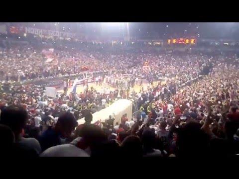 Crvena Zvezda Telekom Belgrade-Panathinaikos Athens 69:67