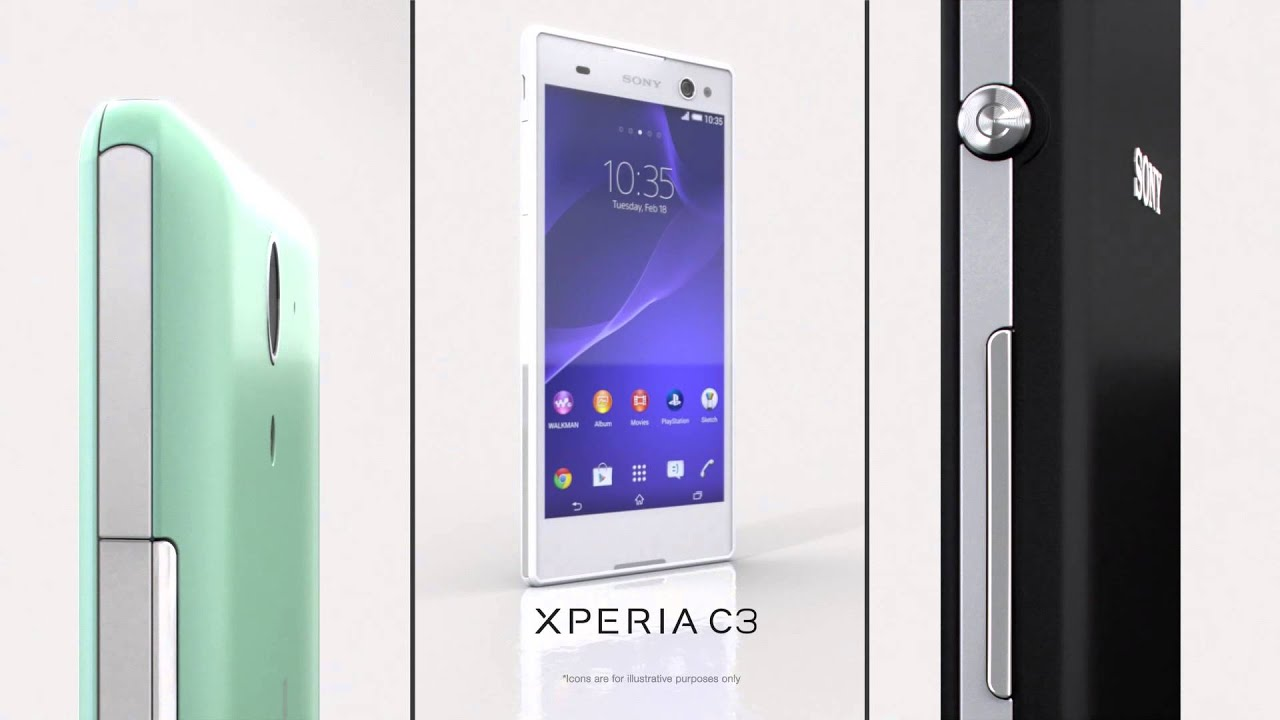 Hd wallpaper xperia c3 - Sony Xperia C3 A Proselfie Smartphone With 5 5 Hd Ips Display