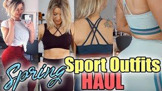 FRÜHLING Sport Klamotten HAUL 💕Spring haul 2019