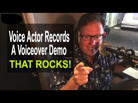 Recording A Voice Over Demo That Rocks w Scott Rummell  Top TV  & Movie  Voice  Actor
