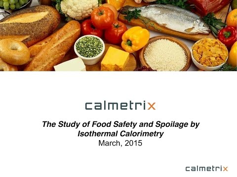 Webinar A: Studies of food safety and spoilage