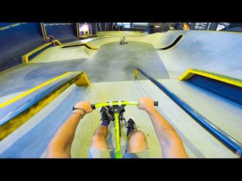 DRIFT TRIKE TRICKS AT SKATEPARK