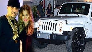 khloe kardashian french montana 30th birthday i gives her 49000 jeep wrangler sahara
