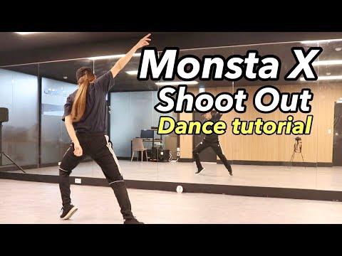 MONSTA X (몬스타엑스) - Shoot Out Dance Tutorial By. Yu Kagawa